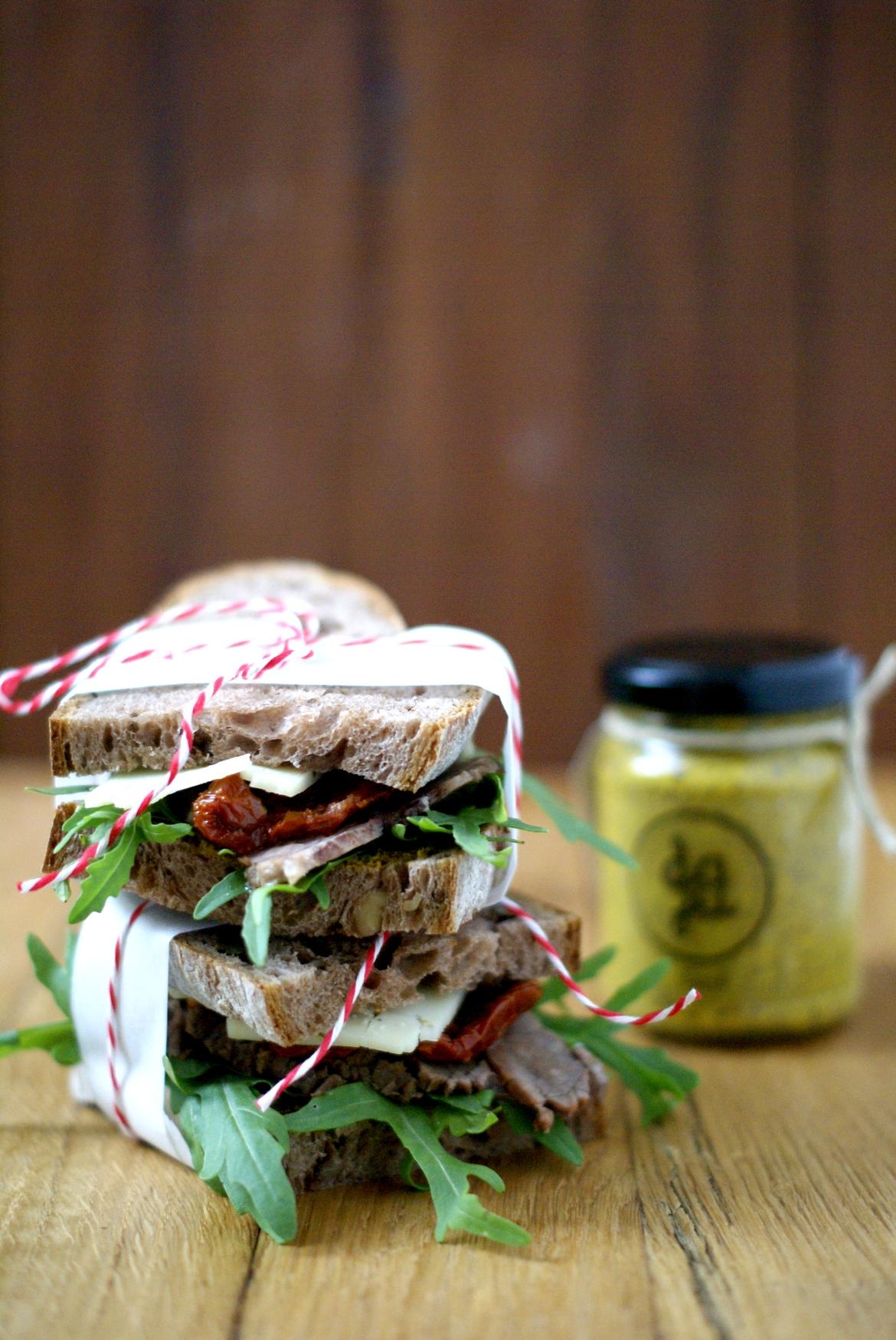 Rindfleisch Sandwich