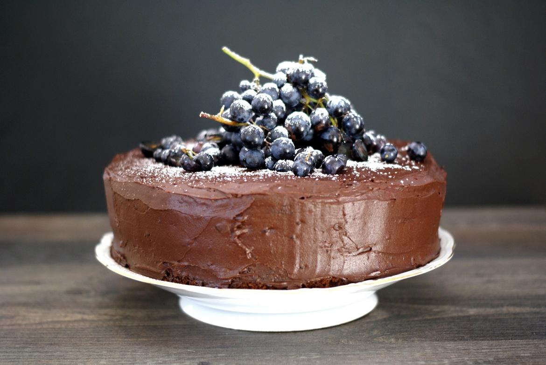 schokolade nuss torte compliment to the chef. Black Bedroom Furniture Sets. Home Design Ideas